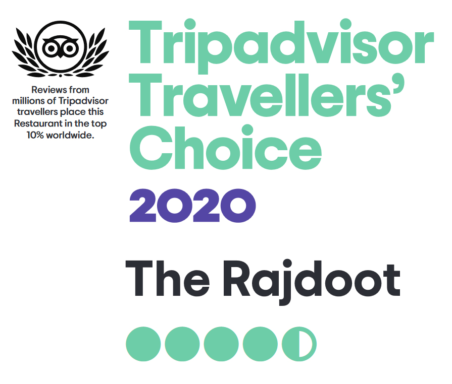 2020 Travellers' Choice Award by Tripadvisor